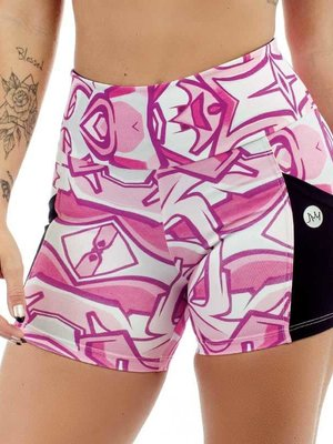GraffitiBeasts JM - Ladies shorts with print