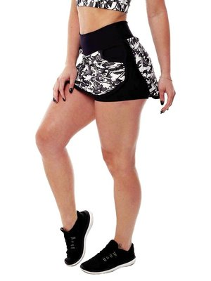 GraffitiBeasts Fire4L - Skirt with handy pockets and innershort