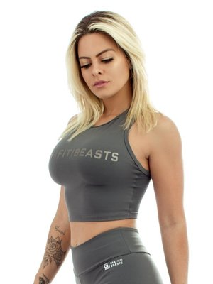 GraffitiBeasts Top  Urban Collection Gray