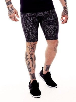 GraffitiBeasts DOES- Heren Running Short met graffiti design