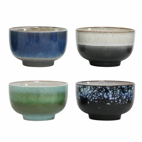 set  of 4 ceramic bowls L