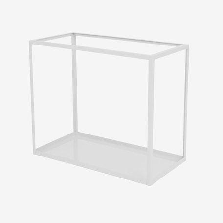 cabinet metal grey L