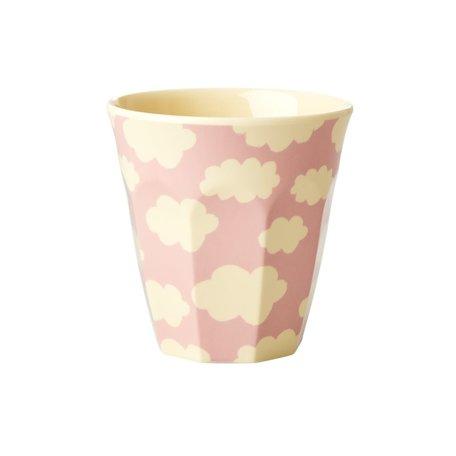 melamine cup cloud pink