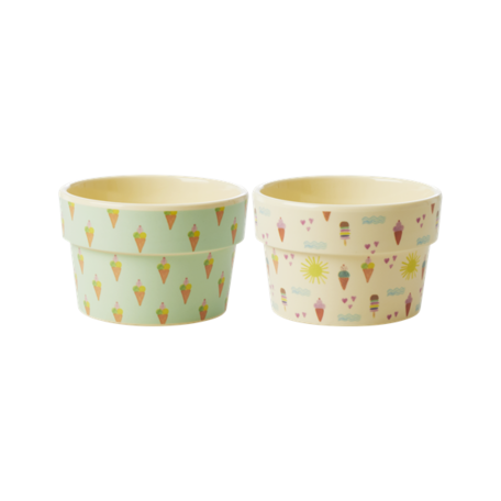 ice cream cup 2 colors