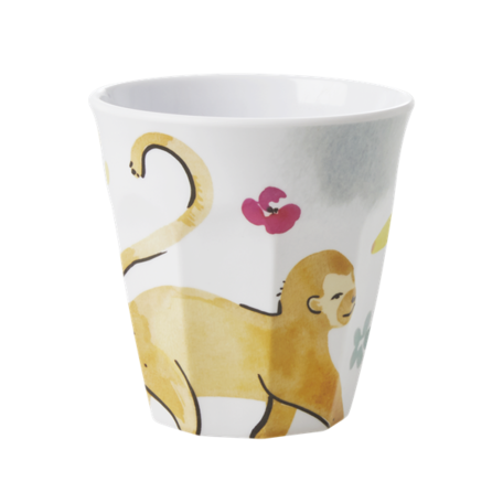 Melamine cup monkey print