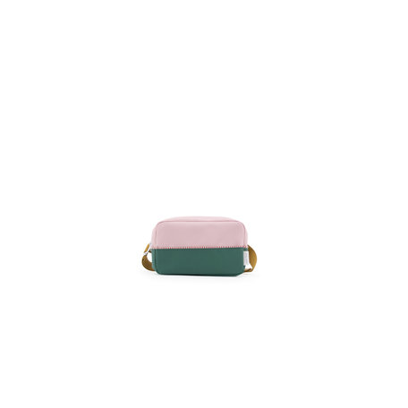 fanny pack L movie green + pastry pink