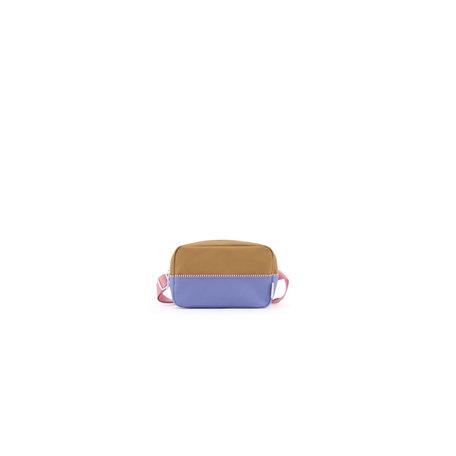 fanny pack L purple + panache gold