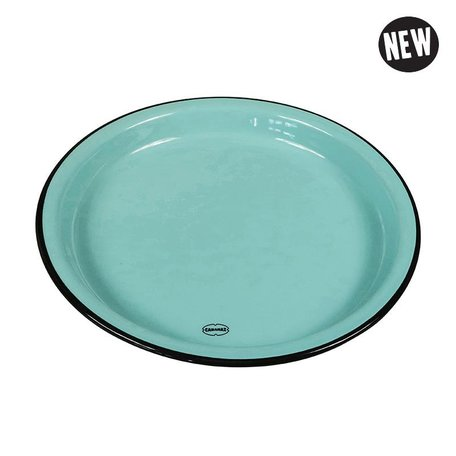 medium plate blue
