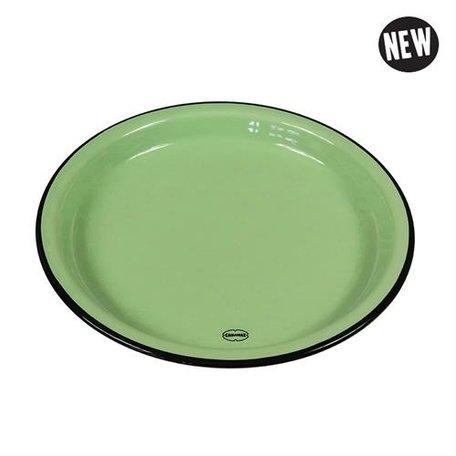 medium plate green