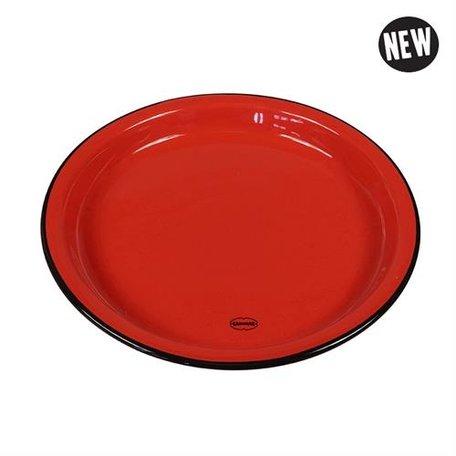 medium plate red