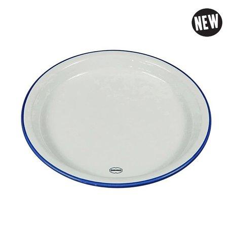 medium plate white