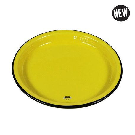 medium plate yellow