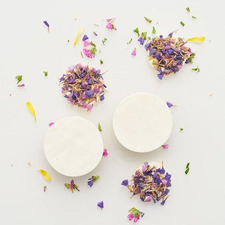 organic soap wild flowers