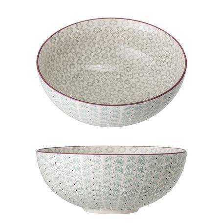 maya serving bowl