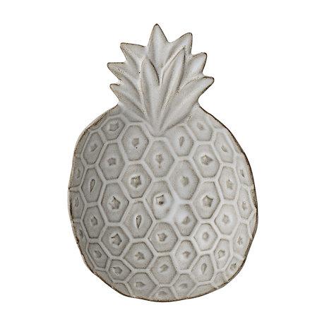 tray white pineapple