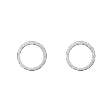small cirle earrings
