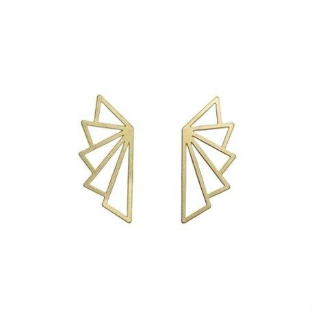 geo earrings gold 8269402