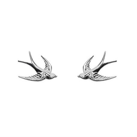 earrings swallow sterling silver 8289601