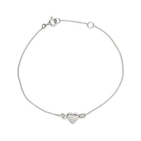 bracelet silver heart 8288701