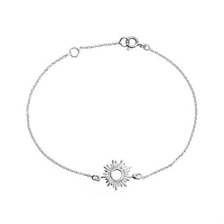 bracelet silver sun 8288601