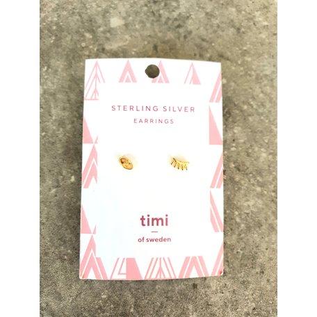 earrings eyes sterling silver gold  8289702