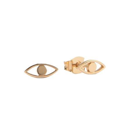 oorbellen oog goud
