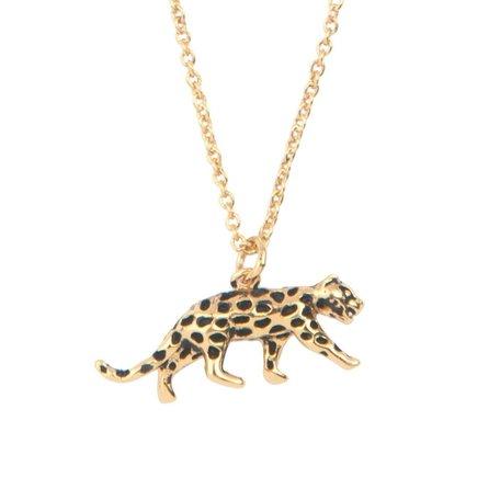 souvernir necklace luipaard
