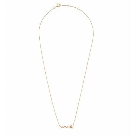 urban necklace namaste