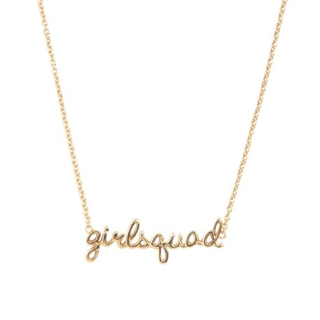 urban necklace girlsquad