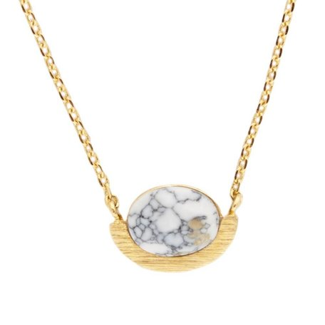 necklace galaxy white/gold