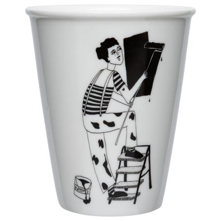 cup paint it black