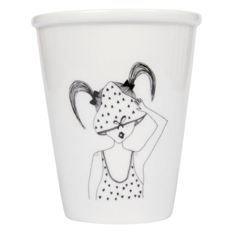 cup underwear girl