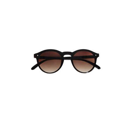 sjieke zonnebril bruin