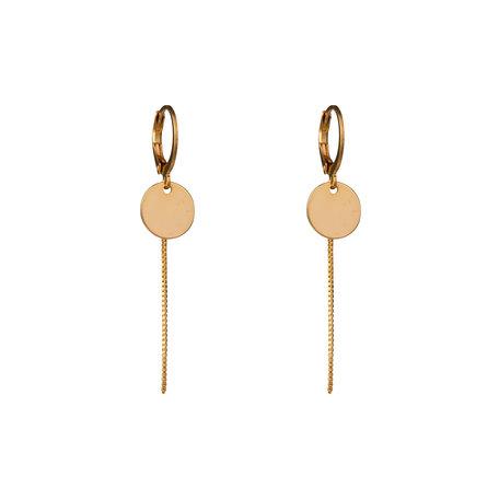Lobogato  circle earrings