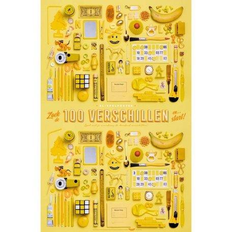 XL spelposter 100 verschillen