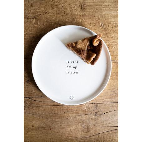 ontbijtbord jij bent