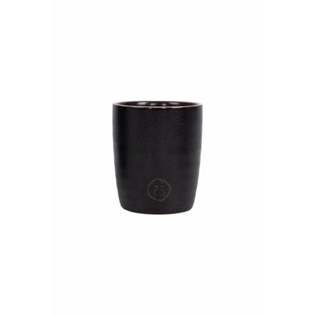espresso kopje aardewerk zwart