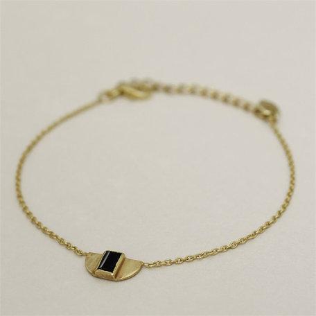 bracelet Egypt garnet black 2051-gb-0