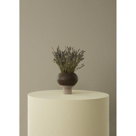 Hagi vase brown