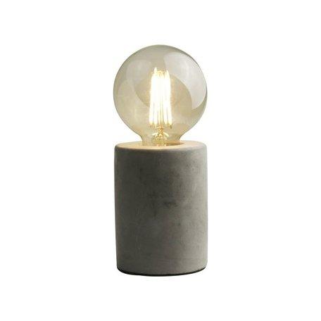tafellamp LED beton
