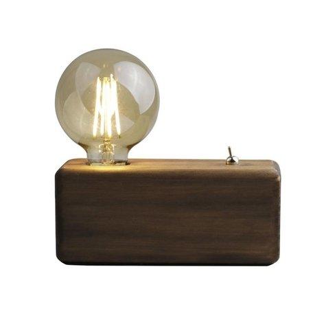 tafellamp LED hout
