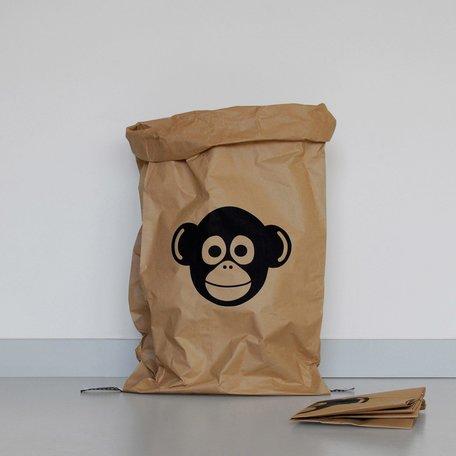 paper bag monkey