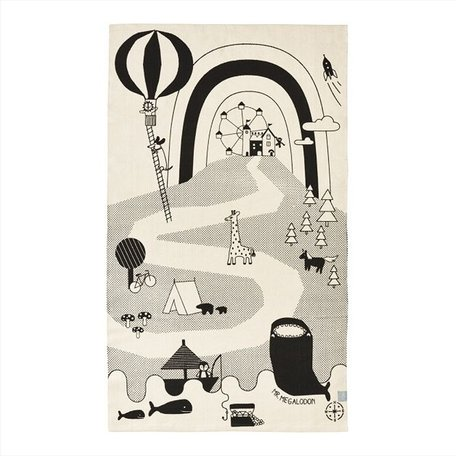 Mr megalodon adventure rug