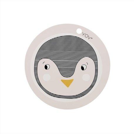 placemat penguin ROSE