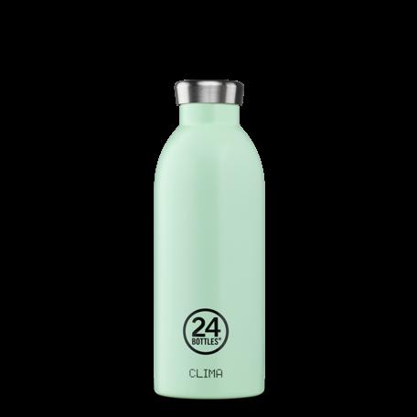 clima bottle aqua green