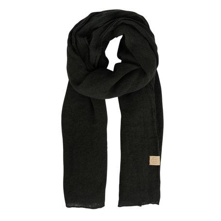 basic sjaal zwart