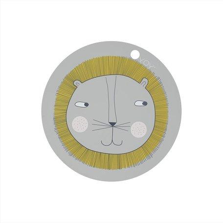 placemat lion