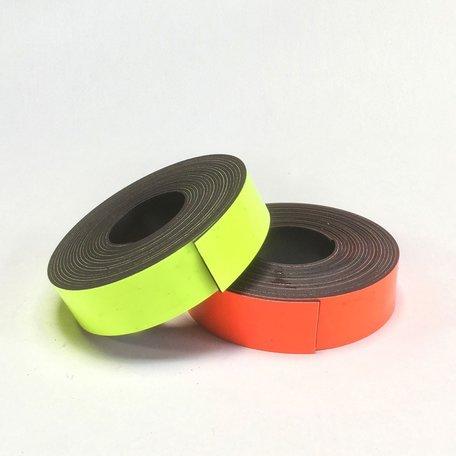 magnetische washi fluo geel/oranje