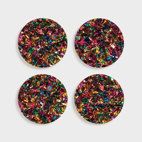 coasters carnival set of 4