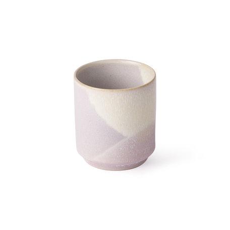 coffee mug lillac yello ACE6825